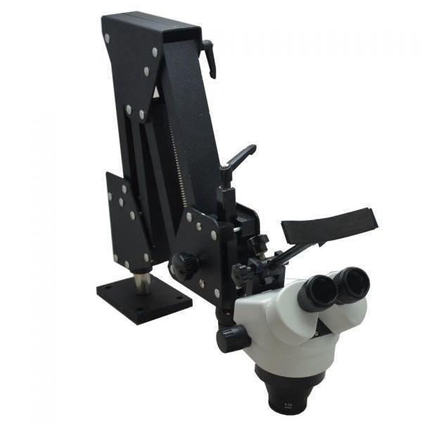 顕微鏡 ズーム式 実体顕微鏡 アーム付 実験 分析 解析 研究 総合倍率 7-45倍 業務用 光学機器