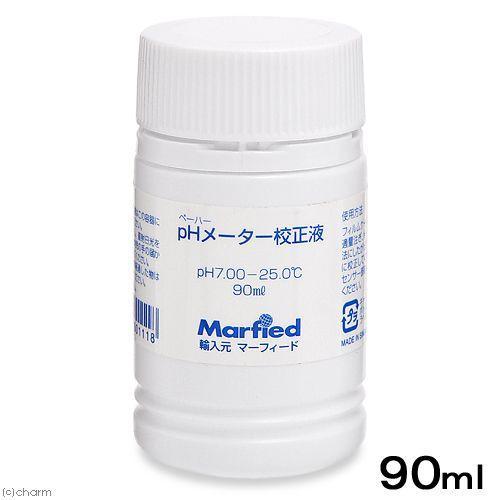 エコペーハー pHメーター標準液 校正液 安心の実績 高価 安心と信頼 買取 強化中 7.00−25℃ 90ml