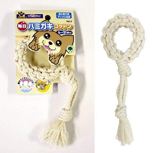 ドギーマン 毎日ハミガキコットン ループ Mini 犬用おもちゃ 犬 お買い得品 デンタルケア 格安 価格でご提供いたします