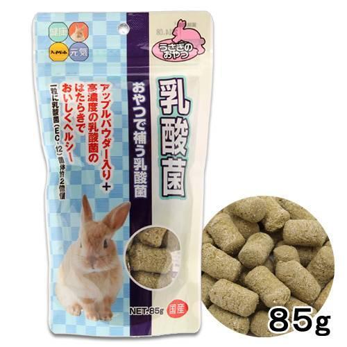 ハイペット 特価品コーナー☆ うさぎのおやつ 秀逸 乳酸菌 おやつ 85g うさぎ