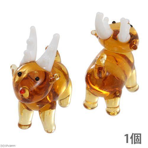 グラスコレクション 受注生産品 トナカイ 1個 超人気 専門店 ガラス細工 インテリア クリスマス