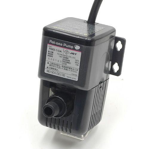 60Hz レイシー水陸両用ポンプ RSD·10A 流量10リットル/分 (西日本用) 沖縄別途送料