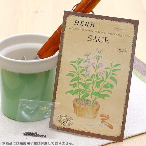 ハーブ オンライン限定商品 HERB セージ 家庭菜園 蔵 品番:810