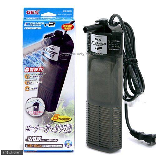 全品最安値に挑戦 GEX 本体 品質保証 コーナーパワーフィルター F2 45〜60cm水槽用水中フィルター ポンプ式