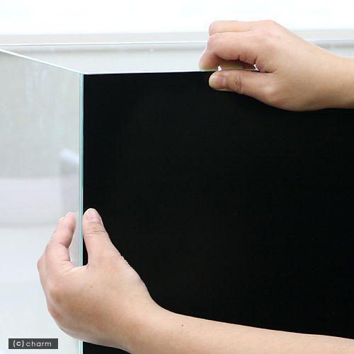 バックスクリーン 激安☆超特価 ARTI アルティ 爆買い送料無料 45 ジェットブラック 50×50cm
