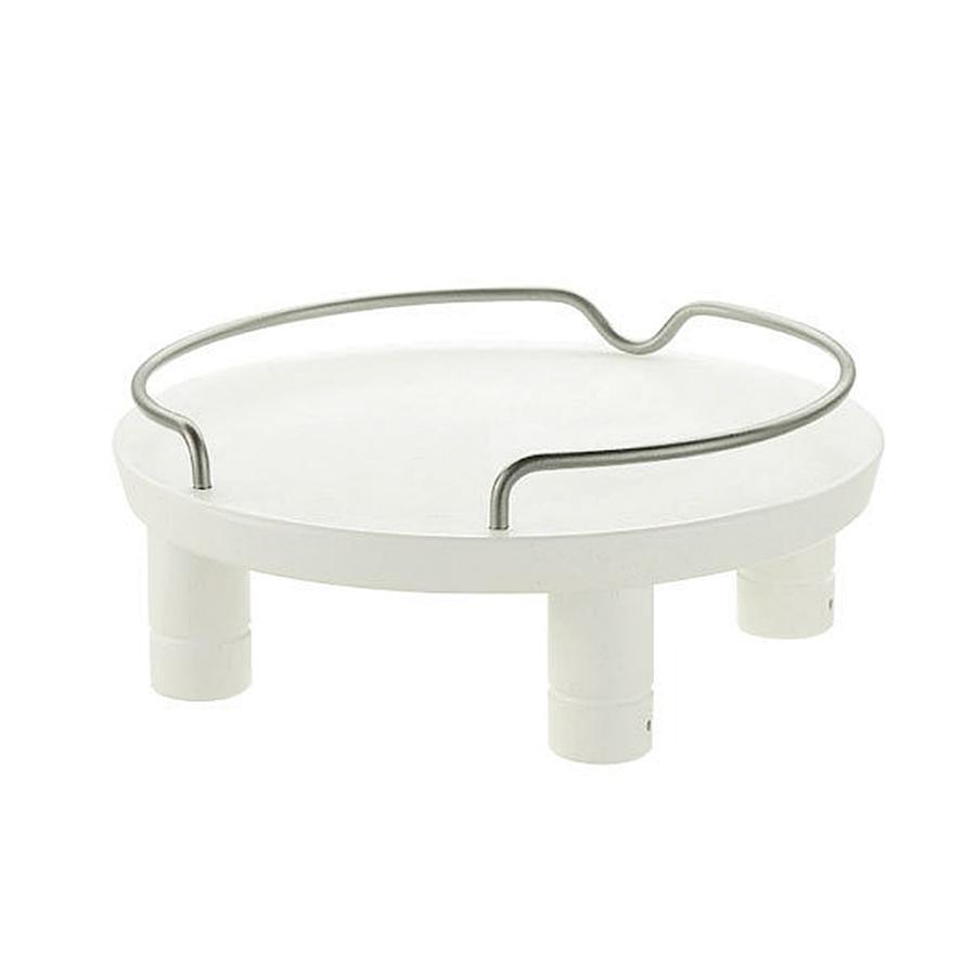 リッチェル ペット用 木製テーブル シングル ホワイト アウトレットセール 特集 トレー 猫用食器台 犬用 驚きの価格が実現