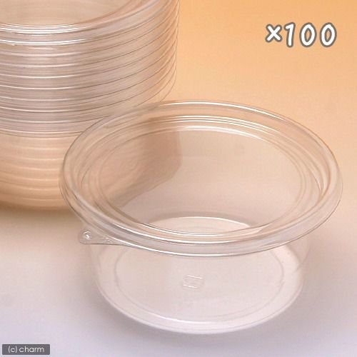 プリンカップ 小 約85ml×100個 DT81−90TC カブトムシ メイルオーダー 卵 幼虫 クワガタ 新作販売 繁殖