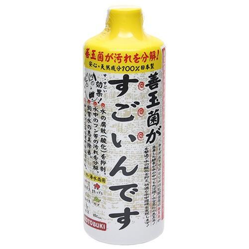 コトブキ工芸 与え kotobuki 善玉菌がすごいんです 500mL 在庫限り 熱帯魚 バクテリア 観賞魚