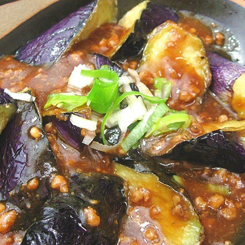 流行 ナスの味噌炒め 200g なす 茄子 本物◆ みそ 肉 テンメンジャン 調理は湯煎で10分 冷凍真空パック