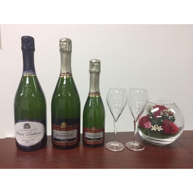 シャンパン ロベール デブロス ミレジム 2010年 750ml12%VOL  辛口 箱無し |chanpanwain|06