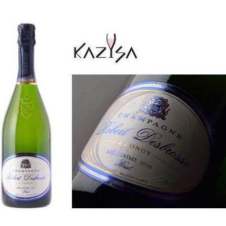 シャンパン ロベール デブロス ミレジム 2010年 750ml12%VOL  辛口 箱無し |chanpanwain|07