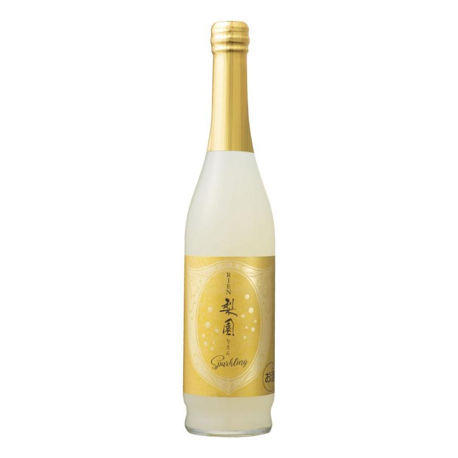 お酒 ●日本正規品● リキュール老松酒造 梨園スパークリング 梨リキュール 6° 500ml 九州限定 気質アップ