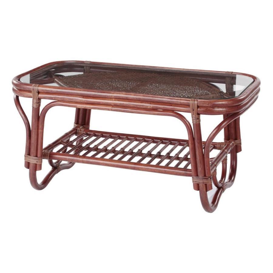 今枝ラタン 籐 テーブル NO-321-1D(代引・同梱不可)