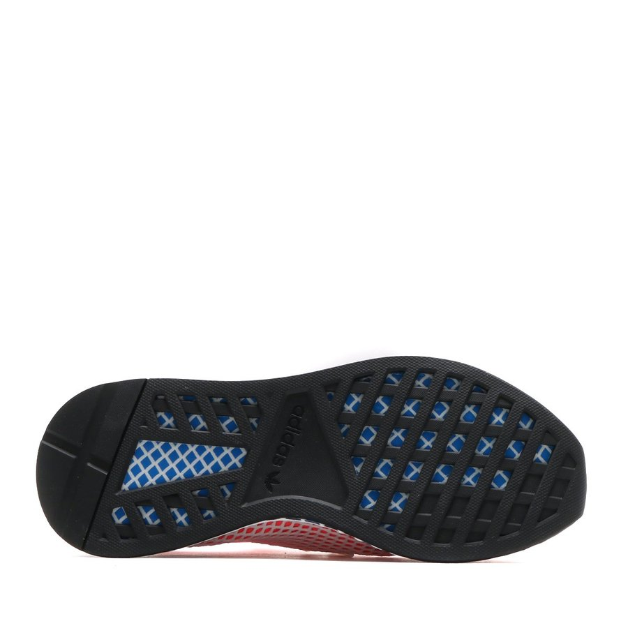 5bfc7c675 adidas Originals DEERUPT RUNNER (Solar Red Solar Red Blue Bird) 18SS ...