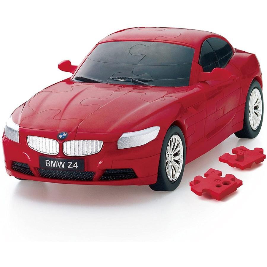 60ピース 国内送料無料 ☆国内最安値に挑戦☆ カーパズル3D BMW レッド Z4
