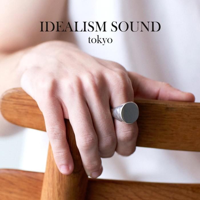 日本初の idealism sound イデアリズムサウンド SILVER OVAL RING idealism MEDIUM OVAL シルバー オーバル sound リング ミディアム, シャンゼリゼ:649140c9 --- airmodconsu.dominiotemporario.com