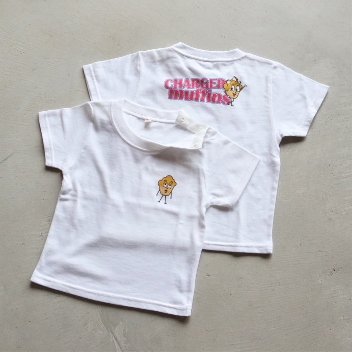 CHARGER COFFEE STAND  キッズ チャージャーコーヒースタンド オリジナル マフィンズ TEE CHARGER muffins Kids オフホワイト OFF WHITE 2021春夏新作|charger|02