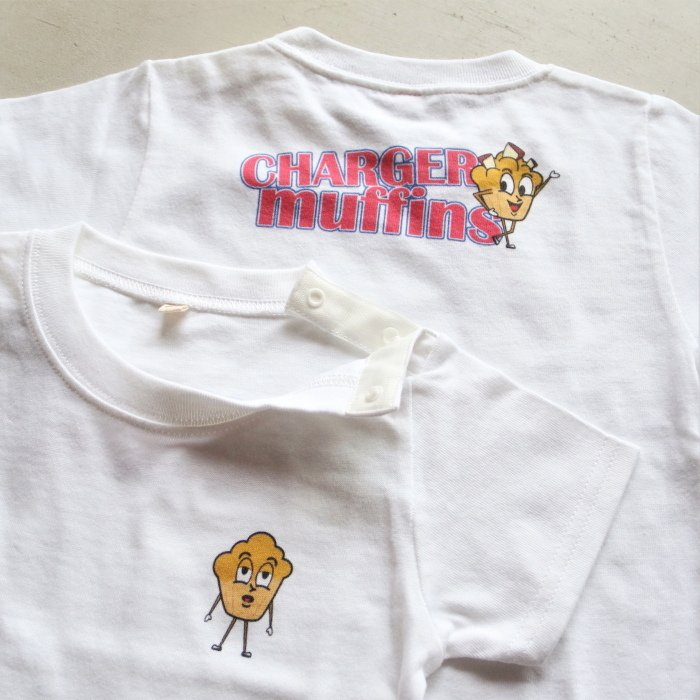 CHARGER COFFEE STAND  キッズ チャージャーコーヒースタンド オリジナル マフィンズ TEE CHARGER muffins Kids オフホワイト OFF WHITE 2021春夏新作|charger|03