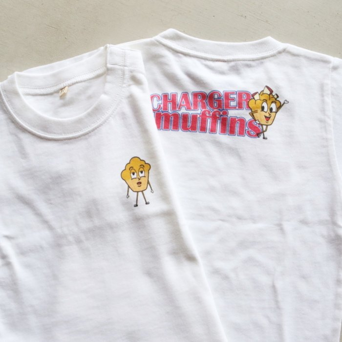 CHARGER COFFEE STAND  キッズ チャージャーコーヒースタンド オリジナル マフィンズ TEE CHARGER muffins Kids オフホワイト OFF WHITE 2021春夏新作|charger|04