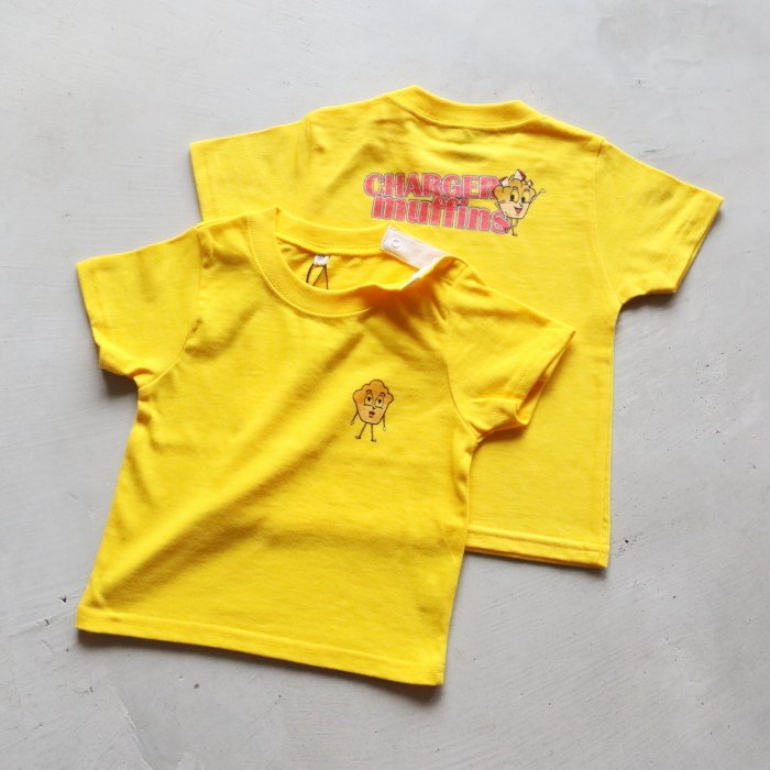 CHARGER COFFEE STAND  キッズ チャージャーコーヒースタンド オリジナル マフィンズ TEE CHARGER muffins Kids オフホワイト OFF WHITE 2021春夏新作|charger|05