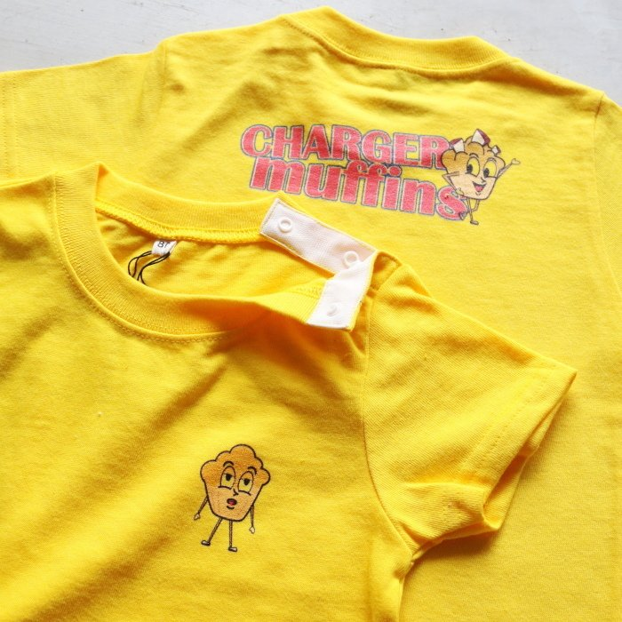 CHARGER COFFEE STAND  キッズ チャージャーコーヒースタンド オリジナル マフィンズ TEE CHARGER muffins Kids オフホワイト OFF WHITE 2021春夏新作|charger|06