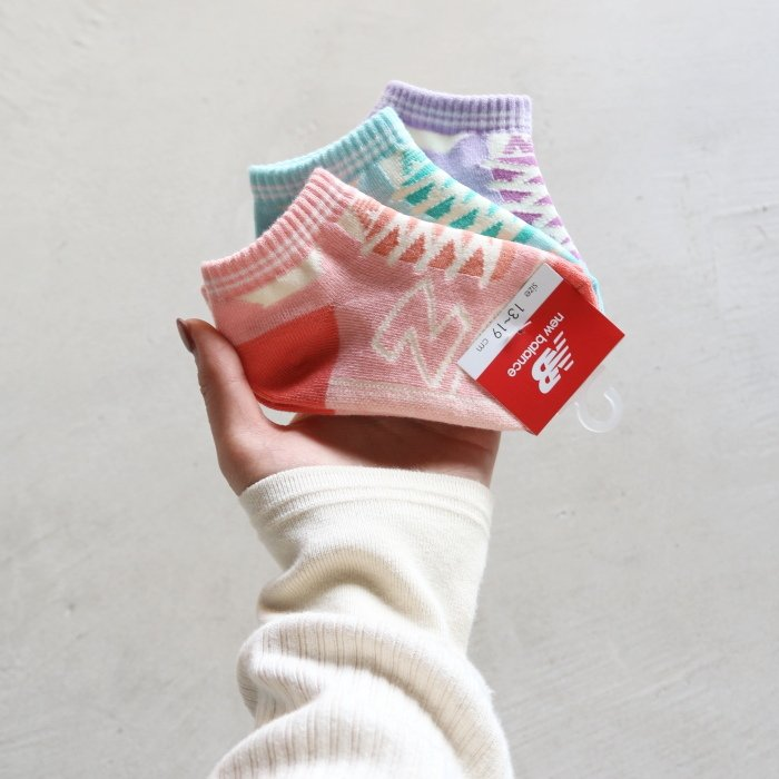 ニューバランス キッズ 靴下 New Balance  キッズ3Pソックス KIDS 3P SOCKS 2色展開 2021春夏新作|charger|06
