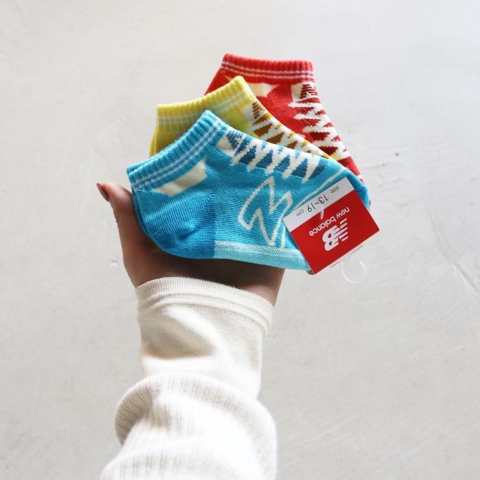 ニューバランス キッズ 靴下 New Balance  キッズ3Pソックス KIDS 3P SOCKS 2色展開 2021春夏新作|charger|07
