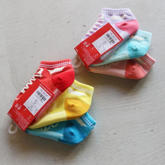 ニューバランス キッズ 靴下 New Balance  キッズ3Pソックス KIDS 3P SOCKS 2色展開 2021春夏新作|charger|08