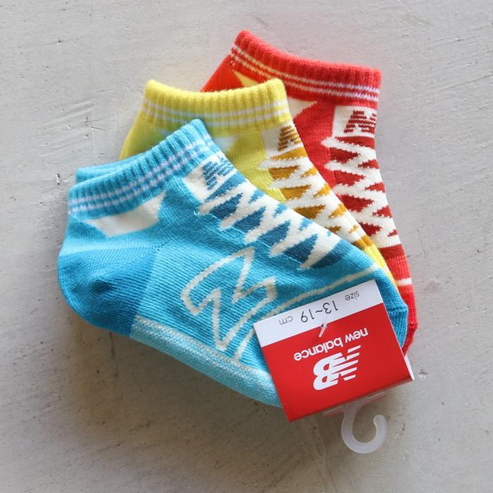 ニューバランス キッズ 靴下 New Balance  キッズ3Pソックス KIDS 3P SOCKS 2色展開 2021春夏新作|charger|10