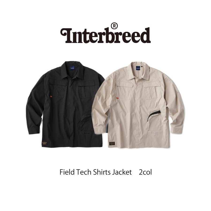 30%OFF INTERBREED(インターブリード)Field Tech Shirts Jacket(2 ...
