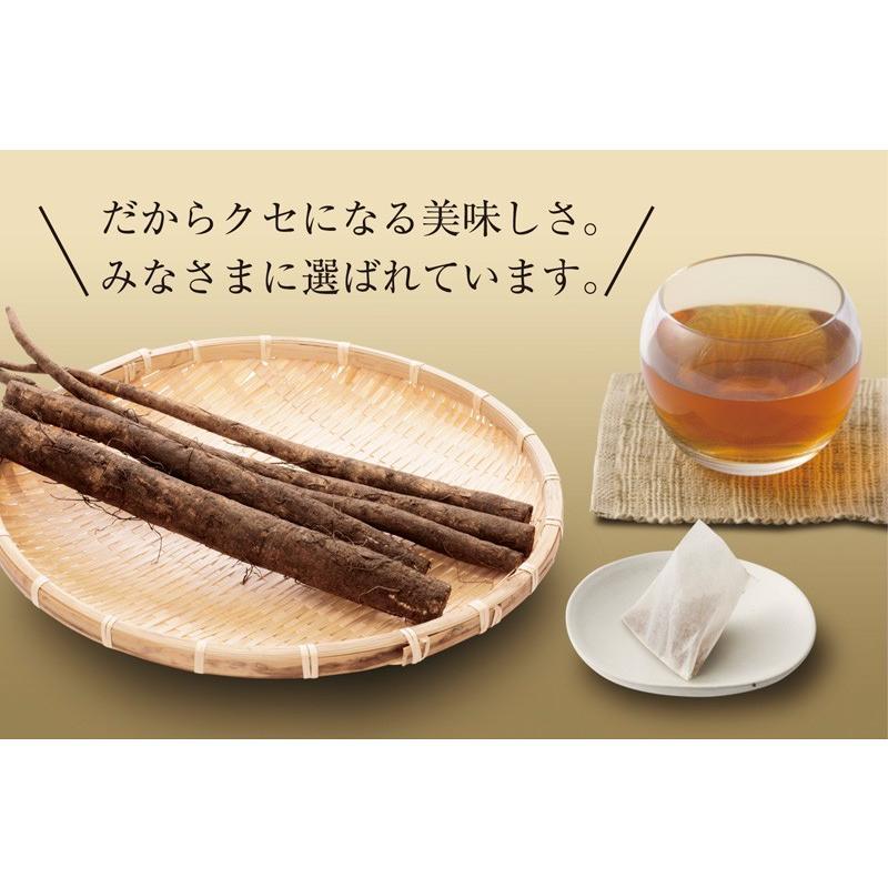 ごぼう茶 国産ごぼう茶ティーバッグ 40包セット ネコポス便 送料無料 ゴボウ茶 牛蒡茶|chashoan|17