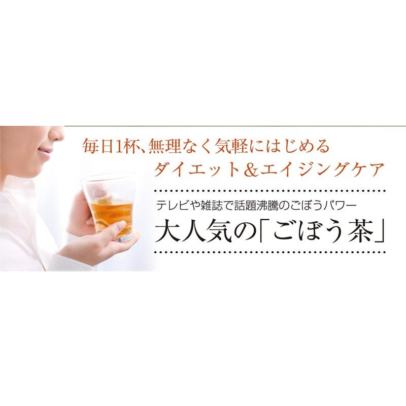 ごぼう茶 国産ごぼう茶ティーバッグ 40包セット ネコポス便 送料無料 ゴボウ茶 牛蒡茶|chashoan|04