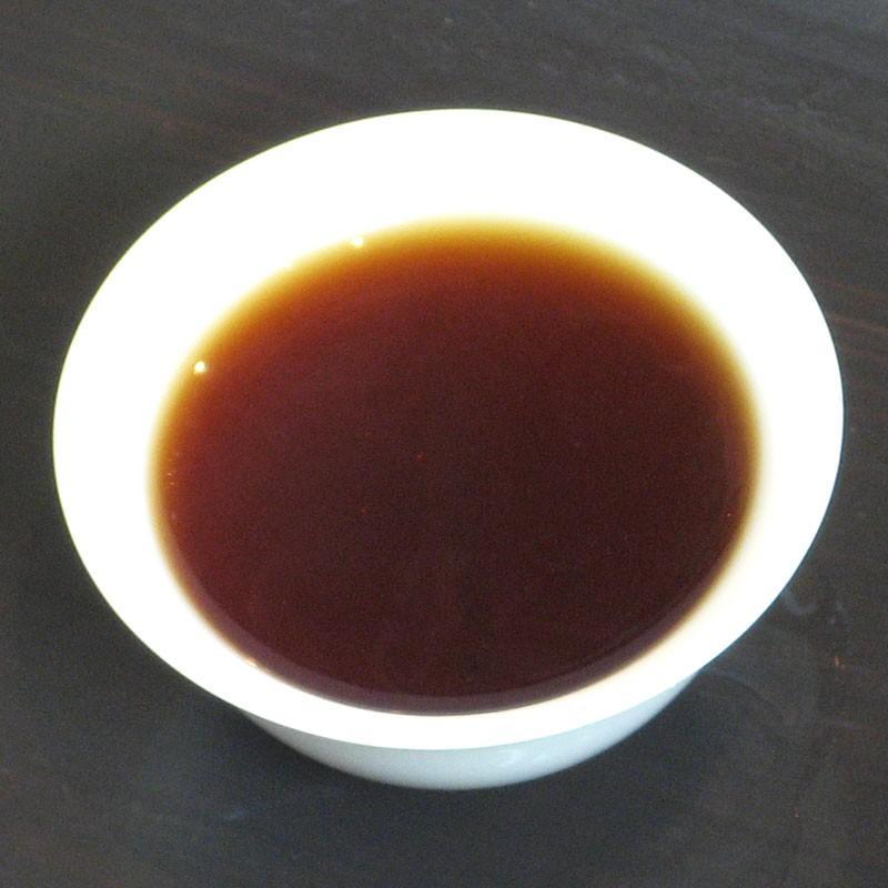 瀾滄江熟茶磚1995年 20g chasyu-charaku 02