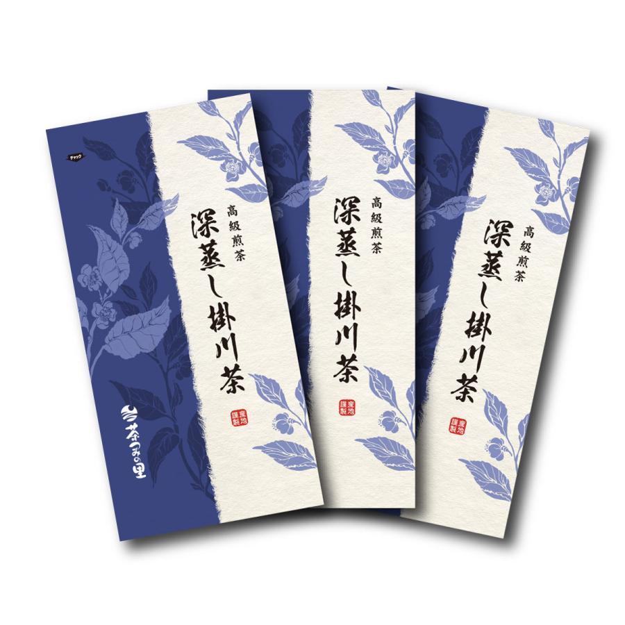 深蒸し掛川茶 100g×3本セット