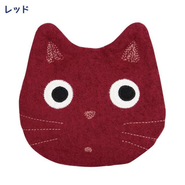 [メール便対応] 秋たま2チャームポーチ(ノアファミリー 猫グッズ ネコ雑貨 ポーチ ねこ柄) 051-A814 chatty-cloth 02