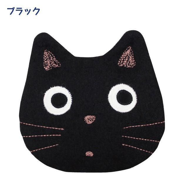 [メール便対応] 秋たま2チャームポーチ(ノアファミリー 猫グッズ ネコ雑貨 ポーチ ねこ柄) 051-A814 chatty-cloth 04