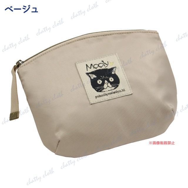 [メール便対応] モーリーフラットポーチ(ノアファミリー 猫グッズ ネコ雑貨 ポーチ ねこ柄) 051-A819 chatty-cloth 05
