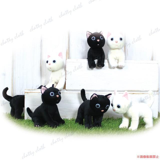 たまちゃん ぬいぐるみ (ノアファミリー 猫グッズ ネコ雑貨 ぬいぐるみ ねこ柄) 051-C201 chatty-cloth 08