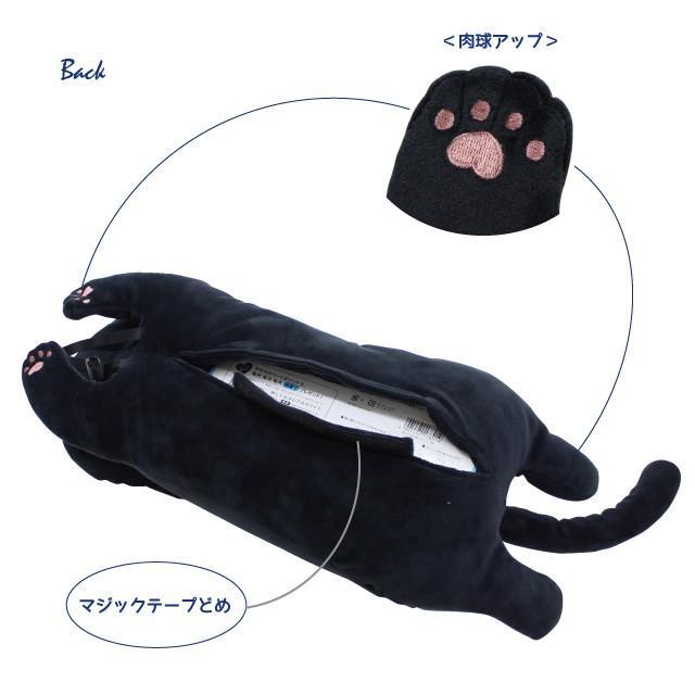 たまちゃんぬいぐるみティッシュカバー(ノアファミリー 猫グッズ ネコ雑貨 ぬいぐるみ ティッシュカバー ねこ柄) 051-H843|chatty-cloth|03