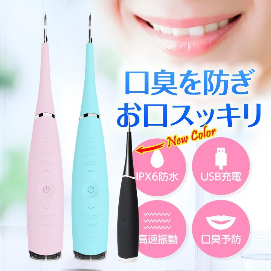 驚きの値段で 口腔洗浄器 口内洗浄機 超音波スケーラー USB充電式 超音波 2020 新作 スケーラー 周波振動 クリーナー デンタル