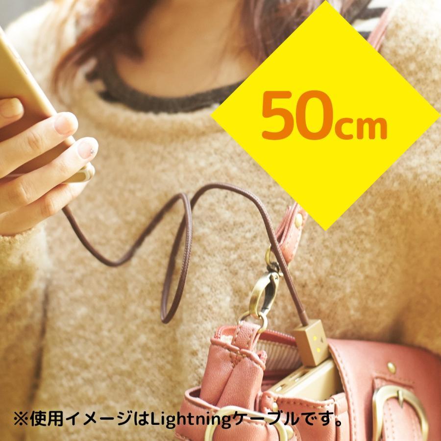 iPhone ケーブル 純正 MFi認証 ライトニングケーブル ダンボー キャラクター チーロ cheero DANBOARD USB Cable (50cm) 充電 / データ転送|cheeromart|04