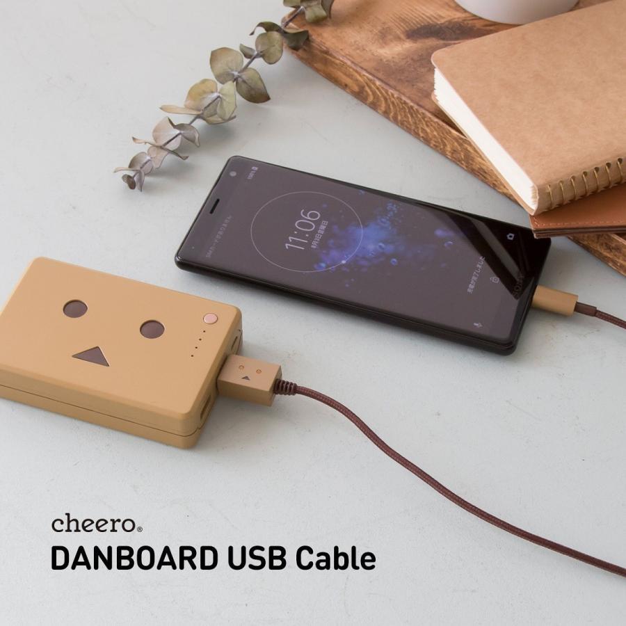 タイプC ケーブル ダンボー キャラクター チーロ cheero DANBOARD USB Cable (50cm) 充電 / データ転送  Xperia / Galaxy / Nintendo Switch / Macbook cheeromart 06