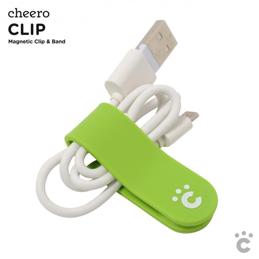 万能クリップ シリコン 便利グッズ チーロ cheero CLIP (5色セット)|cheeromart|03