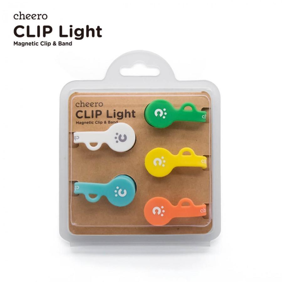 万能クリップ シリコン 便利グッズ チーロ cheero CLIP Light (5色セット)|cheeromart|06
