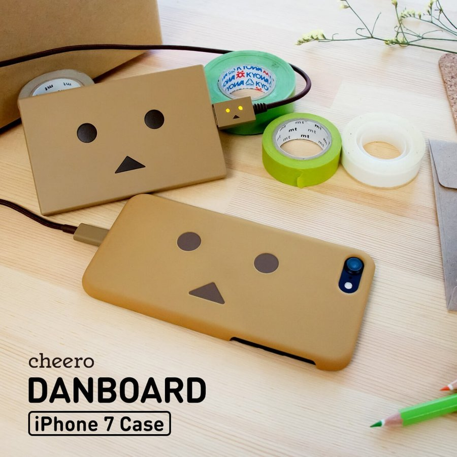 iPhone SE 第2世代 対応 iPhone 8 iPhone 7 ケース ダンボー キャラクター チーロ cheero Danboard Case for iPhone 7 & 8 & SE|cheeromart|02