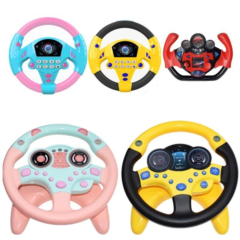 車のハンドル ライト音 ベビー キッズ 正規品 操縦士 子供 激安挑戦中 おもちゃ 教育