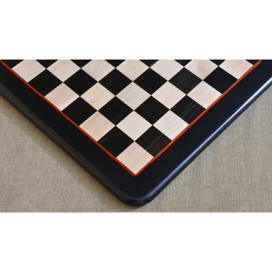 チェス盤 黒檀 45cm 45mm 海外直送