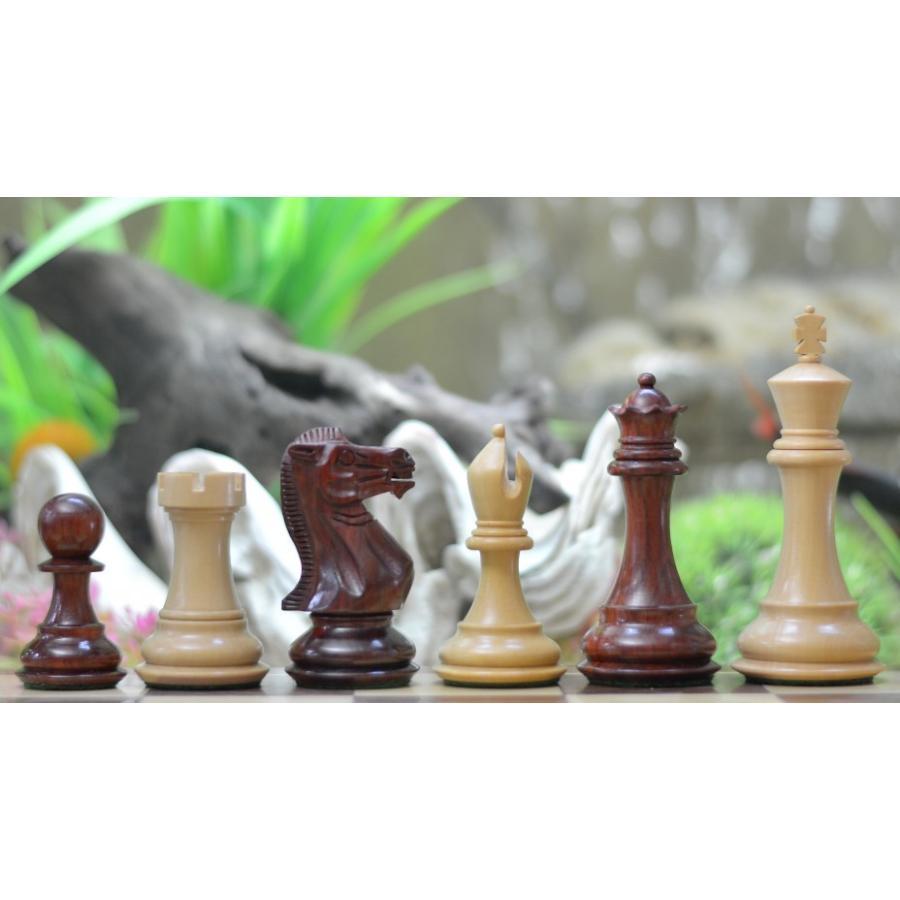 チェス駒 John Henry Staunton 105mm バドローズ 海外直送