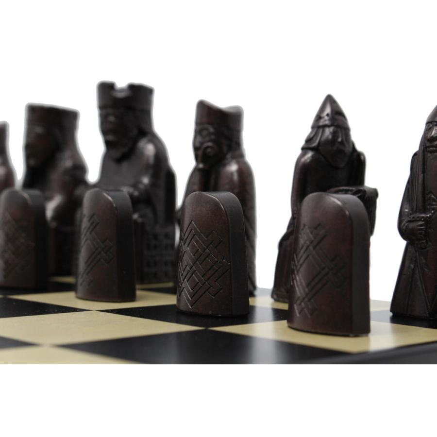ルイス島のチェス駒 8.5cm :men-...