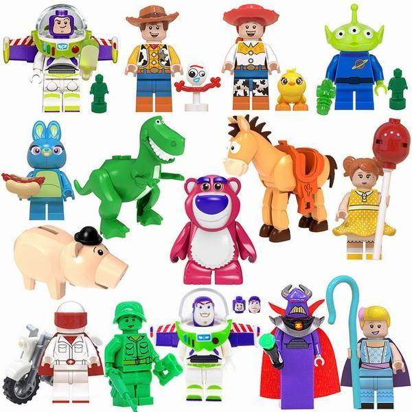 短納期 レゴブロック LEGO レゴミニフィグ トイストーリー15体セット 国内発送 日本正規代理店品 クリスマス 新生活 互換品 プレゼント